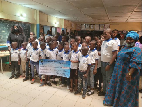 National School For the deaf Donation